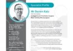 Como Hospital Profiles Mr Darren Katz